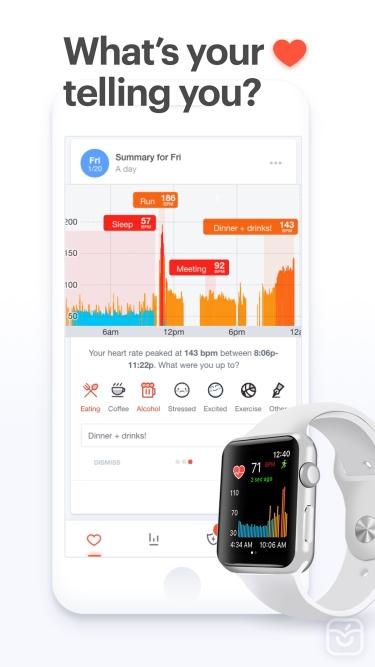 تصاویر Cardiogram: Heart Rate Monitor