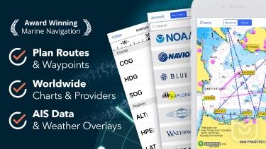 تصاویر iNavX: Marine Navigation