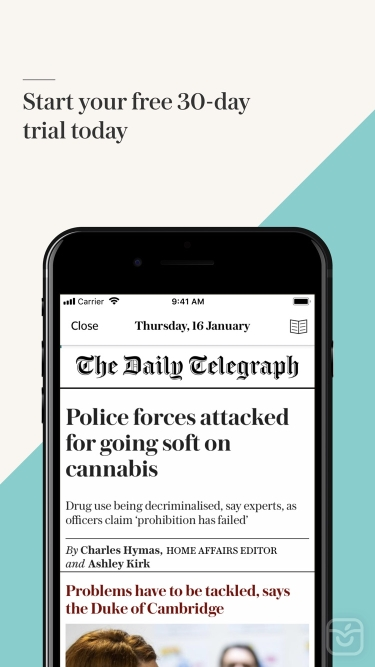 تصاویر Telegraph Newspaper Edition UK