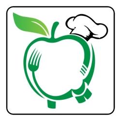 لوگو سیب فود