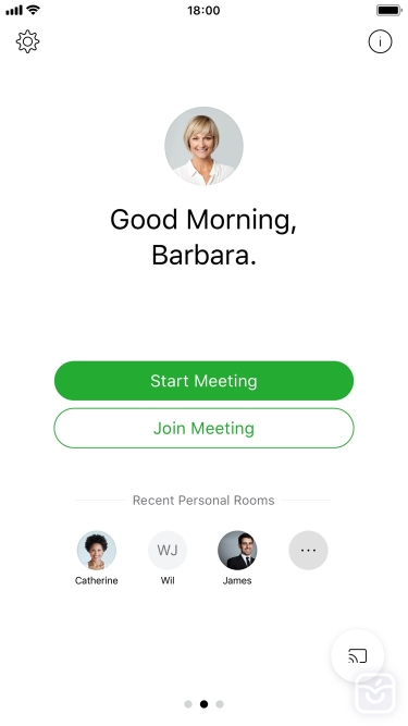 تصاویر Cisco Webex Meetings