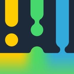 لوگو Trycolors - mix colors