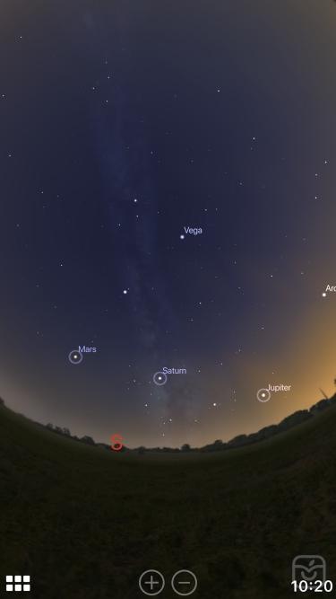 تصاویر Stellarium Mobile Sky Map   افلاک نما