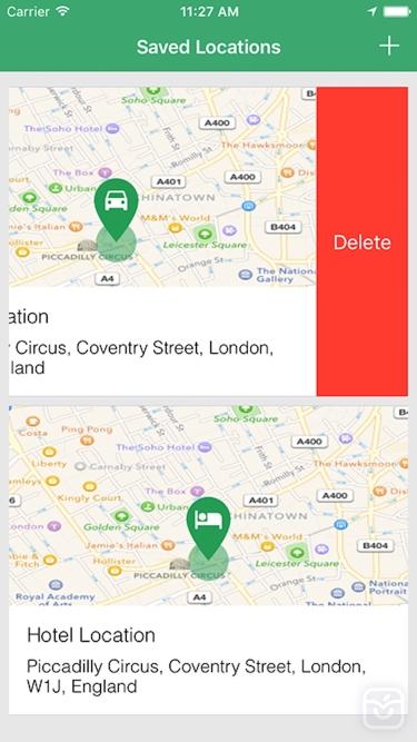 تصاویر Simple Location Tracker - Track and Find Car Parking with GPS Map Navigation