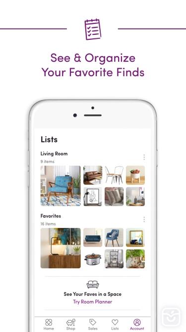 تصاویر Wayfair – Shop All Things Home