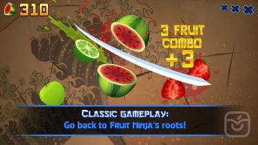 تصاویر Fruit Ninja Classic
