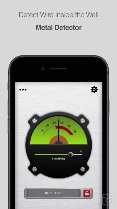 تصاویر Bubble Level for iPhone