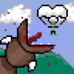 لوگو Super Mega Worm