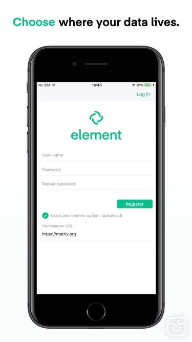 تصاویر Element Messenger