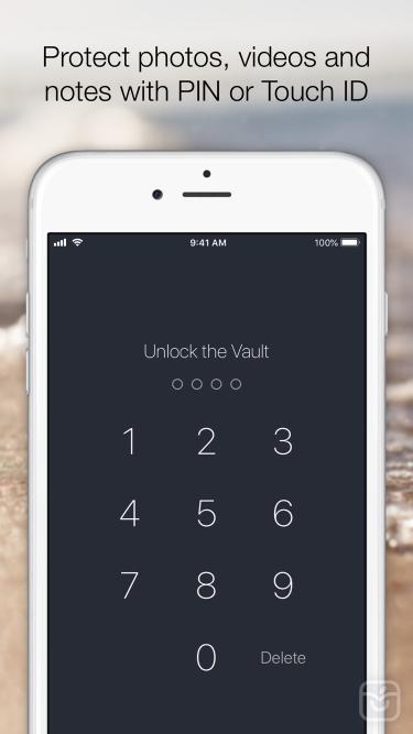 تصاویر Vault – Keep your files hidden