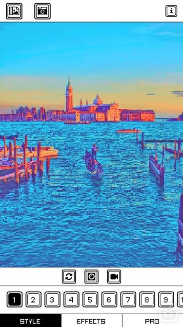تصاویر Pixel Art Camera