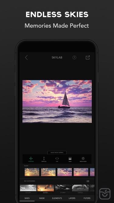 تصاویر SkyLab Photo Editor