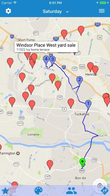 تصاویر Yard Sale Treasure Map
