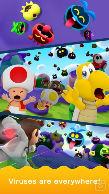 تصاویر Dr. Mario World 4+