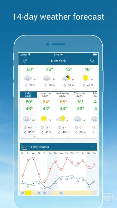 تصاویر Weather & Radar Pro