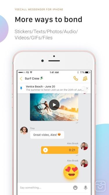 تصاویر YeeCall: HD Voice & Video Call