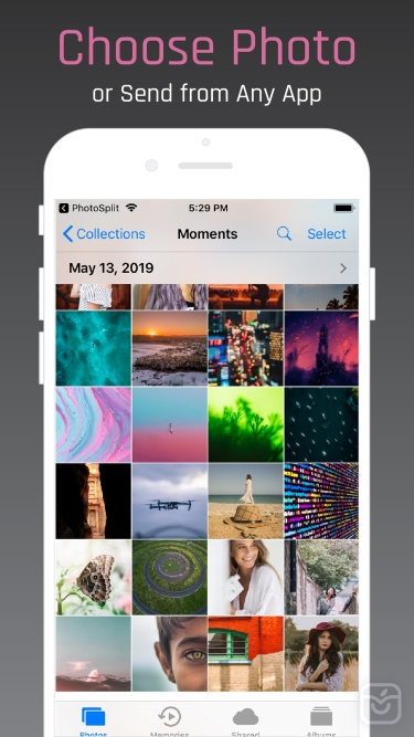تصاویر PhotoSplit for Instagram