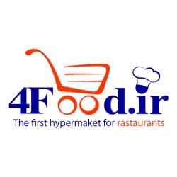لوگو هایپرمارکت رستورانی 4food.ir