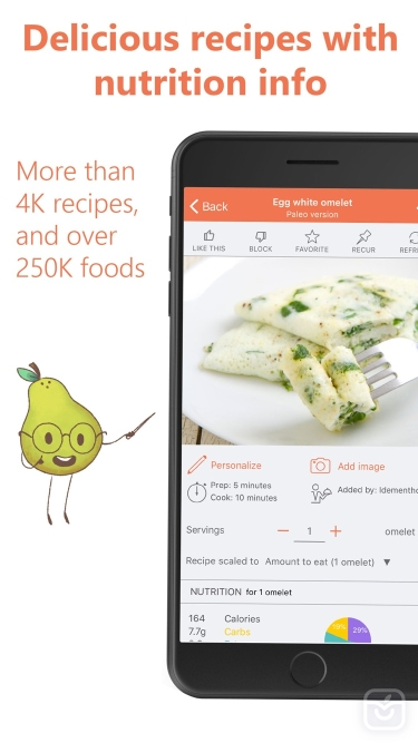 تصاویر Eat This Much - Meal Planner