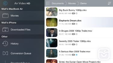 تصاویر Air Video HD.