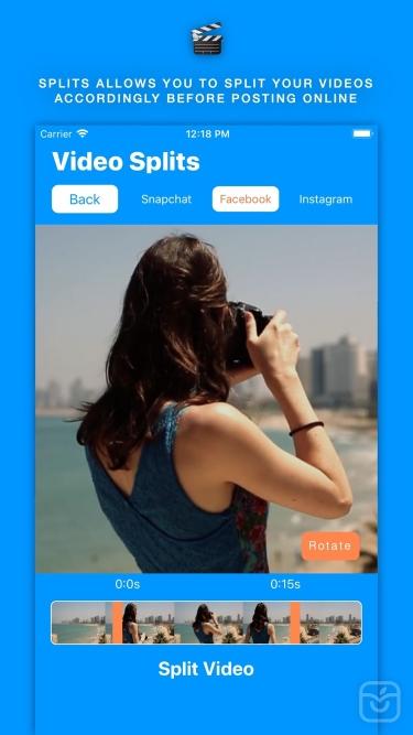 تصاویر Splits for insta & snap