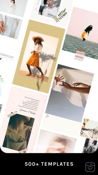 تصاویر UNUM — Design Layout & Collage