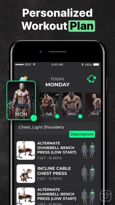 تصاویر ProFit: Personal Workout Plan