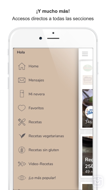 تصاویر Nestlé Cocina. Recetas y Menús