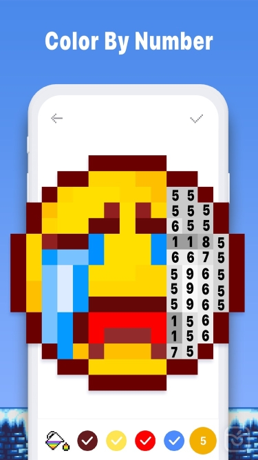 تصاویر Pixel Art Book:Color By Number
