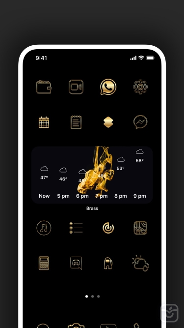 تصاویر Brass - Custom Icons & Widgets