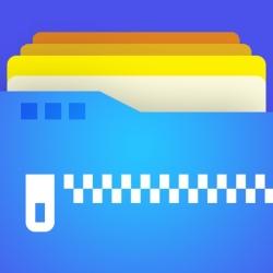 لوگو Zip tool: Zip & unzip files