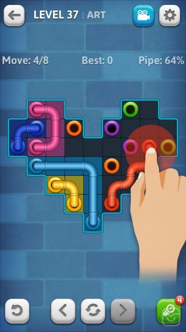 تصاویر   Line Puzzle: Pipe Art