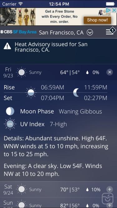 تصاویر CBS SF Bay Area Weather