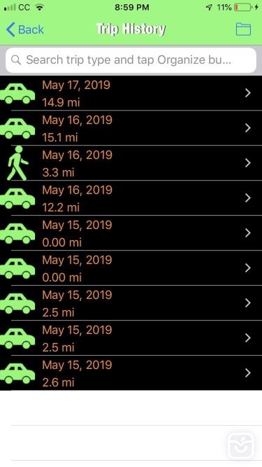 تصاویر Trip Tracker GPS Professional