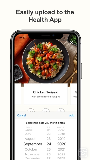 تصاویر Freshly - Food Delivery