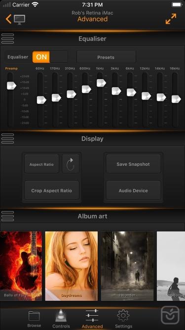 تصاویر VLC Remote Pro!