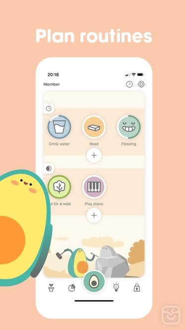 تصاویر Avocation - Habit Tracker