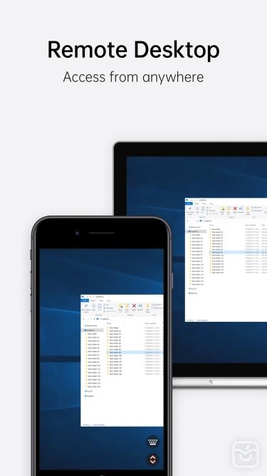 تصاویر AweSun Remote Desktop