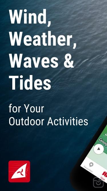 تصاویر Windfinder: Wind & Weather map