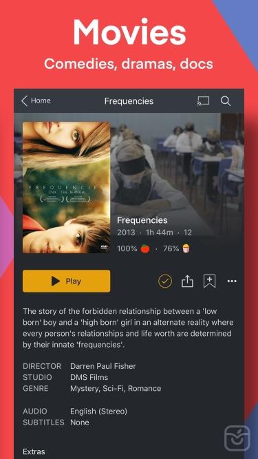 تصاویر Plex: Movies, TV, Music & More