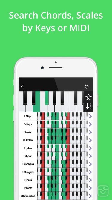 تصاویر Piano Companion PRO: chords