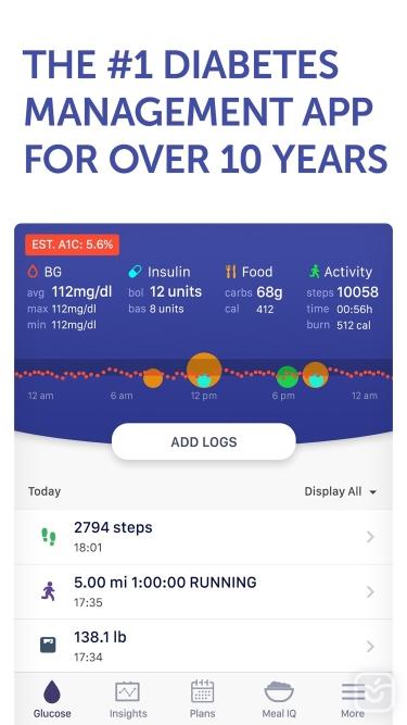 تصاویر Glucose Buddy+ for Diabetes
