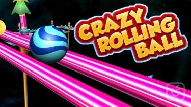 تصاویر Crazy Rolling Ball. Red Bouncing Pop Ball In Sky Adventure