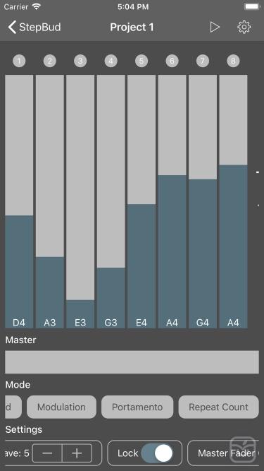 تصاویر StepBud - AUv3 MIDI Sequencer