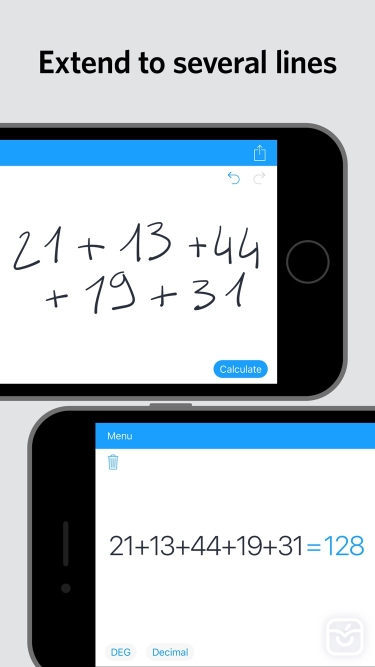 تصاویر MyScript Calculator