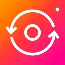 لوگو Repost for instagram ◦