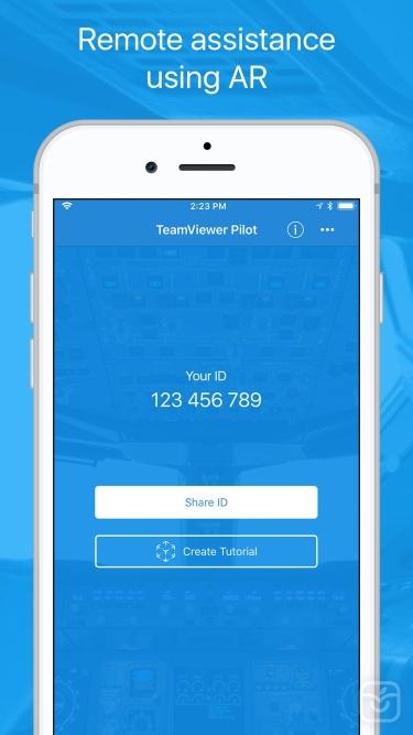 تصاویر TeamViewer Pilot