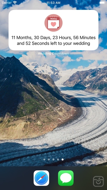 تصاویر Wedding Countdown - New
