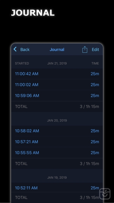 تصاویر MultiTimer: Multiple timers