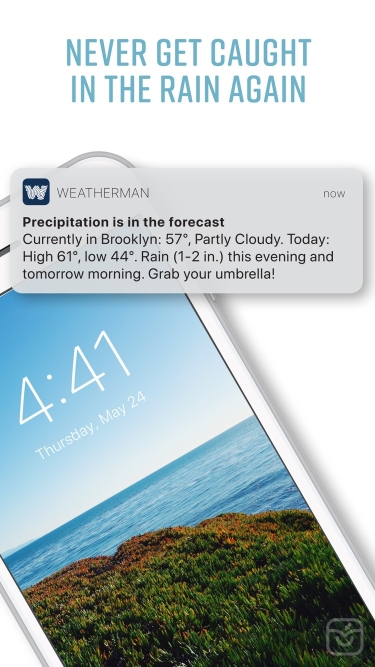 تصاویر Weatherman Umbrella